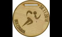 Medaila z dreva Devín