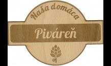 Podpivník z dreva Bratislava