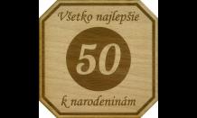 Podpivník z dreva Brno