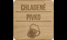 Podpivník z dreva Plzeň
