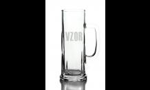Sklenený krígeľ na pivo 0,5L - 026566