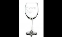 Sklenený pohár na víno 0,3L - 026698