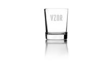 Sklenený pohárik 0,09L - 026572