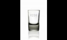 Sklenený pohárik 0,04L - 026573