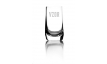 Sklenený pohárik 0,07L - 026942