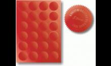 Hviezdičky k reliéfnym pečiatkám 4,1 cm (A4 - 24ks)