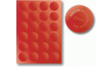 Hviezdičky k reliéfnym pečiatkám 5 cm (A4 - 15ks)