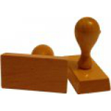 Klasické drevené pečiatky