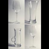 Gravírované sklenené poháre